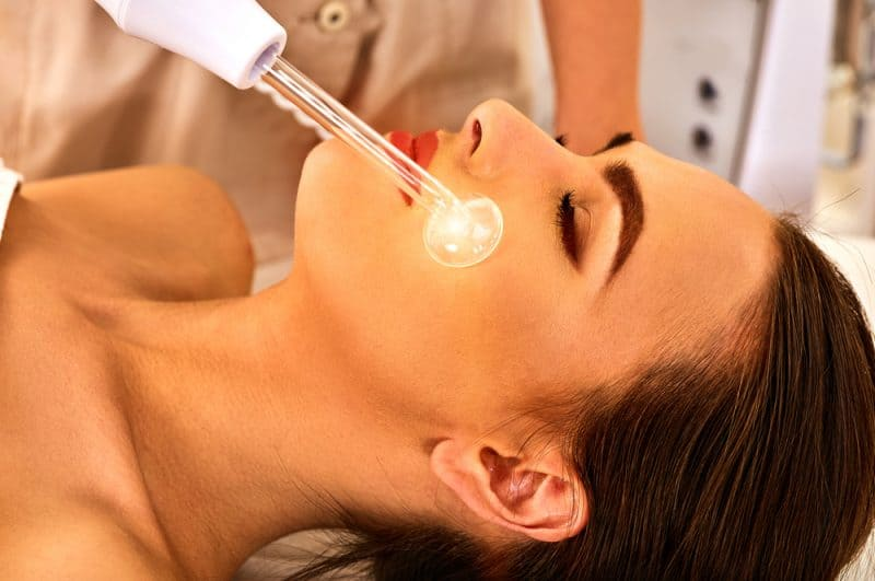 high-frequency facials